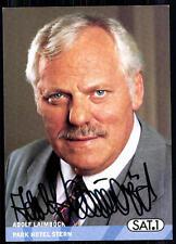 Adolf Laimböck Park Hotel Stern Autogrammkarte Original Signiert## BC 4288