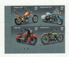 4085-4088 Motorcycles Plate Block Mint/nh (Free shipping offer)