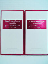 Bath Body Works BLACK RASPBERRY VANILLA Eau De Toilette EDT, 2.5 oz., NEW x 2