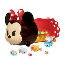 New Disney Tsum Tsum Characters with Minnie Mouse Portable Case Display Set