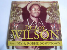 DELROY WILSON Meets SLY & ROBBIE DOWNTOWN NEW CD £9.99