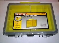 DURATOOL very small fishing tackle box, craft box, tool box NEW, 8 compartments