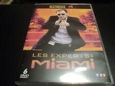 """COFFRET 6 DVD NEUF """"LES EXPERTS A MIAMI - SAISON 4"""""""