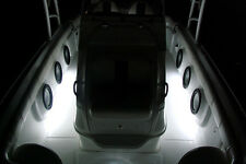 White 4pc LED Kit For Boat Marine Deck Interior Lighting
