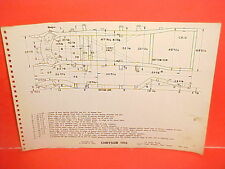 1955 CHRYSLER NEW YORKER 300 WINDSOR CONVERTIBLE COUPE FRAME DIMENSION CHART 55