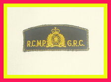 "Polizeiabzeichen/ Police patch"" Royal Canadian Mounted Police,RCMP "" Aufnäher"