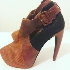 Jeffrey campbell handmade leather shoes size 6