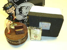 "BETTY BOOP ZIPPO & MUSIC BOX ""I WANNA BE LOVED BY YOU""-LIMITED EDITION -1998-OVP"