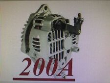 HIGH OUTPUT 200AMP ALTERNATOR Fits MAZDA RX-7 1.3L L4 1993 1994 1995 200AMP