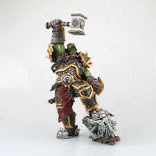 WOW WORLD WARCRAFT ORC WARCHIEF THRALL ACTION FIGURES MODEL STATUE FIGURINES TOY
