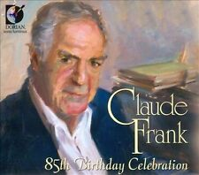 Claude Frank: 85th Birthday Celebration (CD, Nov-2010, 2 Discs, Dorian)