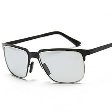 Black Men Transition Photochromic Polarized lenses Full-rim Sunglasses FH7014