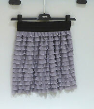 Urban Outfitters purple ruffle mini skirt XS *brand new* RRP £30