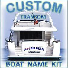 CUSTOM BOAT YACHT TRANSOM NAME 550mm Cast Vinyl Decal Sticker Graphic Kit
