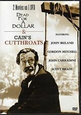 Dead For A Dollar / Cain's Cutthroats (Slimline DVD, 2007) BRAND NEW SEALED