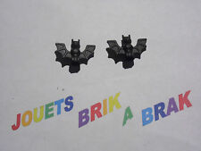 Lego chauve souris Bat x2u personnage figurine animal air ref 30103 Noir Black