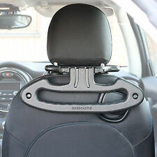 CAR/VEHICLE SEAT MOUNT HEAD REST HANGER COAT/JACKET/SHIRT/SUIT CLOTHES STORAGE