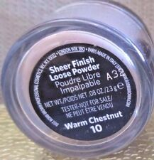 BOBBI BROWN SHEER FINISH LOOSE POWDER WARM CHESTNUT # 10 TRAVEL SIZE .08OZ/2.3G