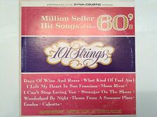 Million Seller Hit Songs of the 60s 101 Strings LP Records Vinyl Album SF-21300