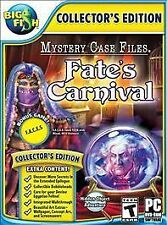 Mystery Case Files: Fate's Carnival Collector's Edition Hidden Object PC Game