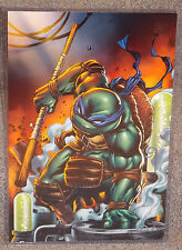 Teenage Mutant Ninja Turtles Donatello Glossy Print 11x17 In Hard Plastic Sleeve