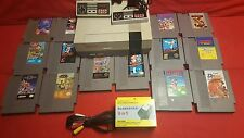 Huge Nintendo  (nes) lot with 14 Games 2 Controllers