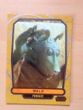 2013 Star Wars Galactic Files 2 # 399 Wald Topps Cards