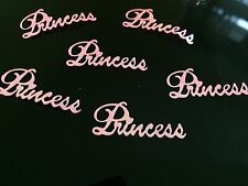 Pretty Pink Princess Confetti Sprinkles Wedding, Party Table Decorations Girls