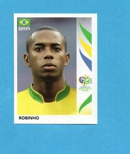 PANINI-GERMANY 2006-Figurina n.395- ROBINHO - BRASILE -NEW BLACK