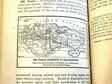 Rare 1st Ancient History Prehistoric Greece Egypt Maps War Engraved Antique Book