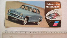 SIMCA ARONDE 1300 MONTLHERY 58 documentation catalogue  depliant