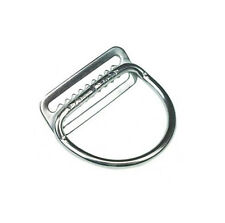 """Dive Rite Stainless Steel 2"""" D-Ring Welded Bend 45° (Weight Belt SS S/S 2in)"""
