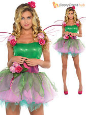 Deluxe adulte femme fairy tinker costume + ailes de conte de fées femmes fancy dress