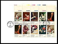 USA FDC Universal Postal Union Issue Letters in Art Scott 1537a 1974 /B(BI#PB76)