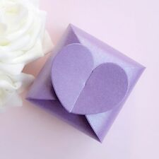 50/100 Love Heart Candy Boxes Wedding Party Baby Shower Favors Gift Boxes / USA