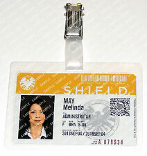 Marvel Agents of S.H.I.E.L.D May Melinda ID Badge Cosplay Costume Prop Comic Con