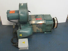 RELIANCE ELECTRIC P21L02116-NC 40HP AC MOTOR INVERTER DUTY W/ FILTERED BLOWER