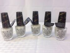 Lot Of 5 Opi Solitaire Nail Polish  Free Shipping