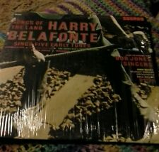 Harry Belafonte songs of the land sings five early tunes vinyl record