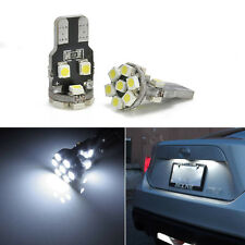 2Pcs 13-SMD T10 168 194 2825 Xenon White  LED Bulbs For Car License Plate Lights