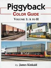 Piggyback Color Guide Volume 1: A to H / Railroad / Trailer on Flat Car