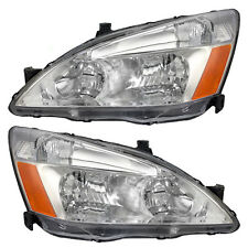 03-07 Honda Accord Set of Headlights