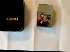 Zippo Betty Boop Lighter