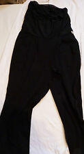 BNWT Diesel Black Long Yoga Pant. Ladies Size XS UK Size 6