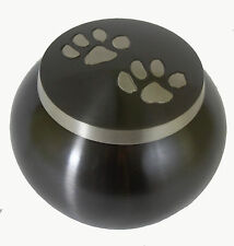 "Pet Urn 4"" Odyssey Paw Print, Dog, Cat Ashes Memorial Cremation MINOR SCRATCHES"