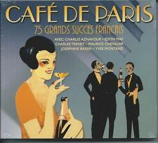 Cafe De Paris - 75 Grands Succes Francais (3CD 2008) NEW/SEALED