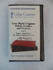 GREAT WORLD RELIGIONS Pt 2 GOD AND HIS PROPHET: RELIGION OF ISLAM Great Courses
