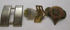 US Army  Military Silver & Gold Military Pins - American Eagle Lot of 3 Badge