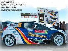 DECALS 1/43 FORD FIESTA RS WRC - #12 F.DELECOUR -RALLYE MONTE CARLO 2014- NCM119