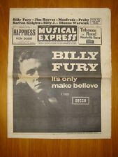 NME #917 1964 AUG 7 BILLY FURY MANFRED MANN KRAMER